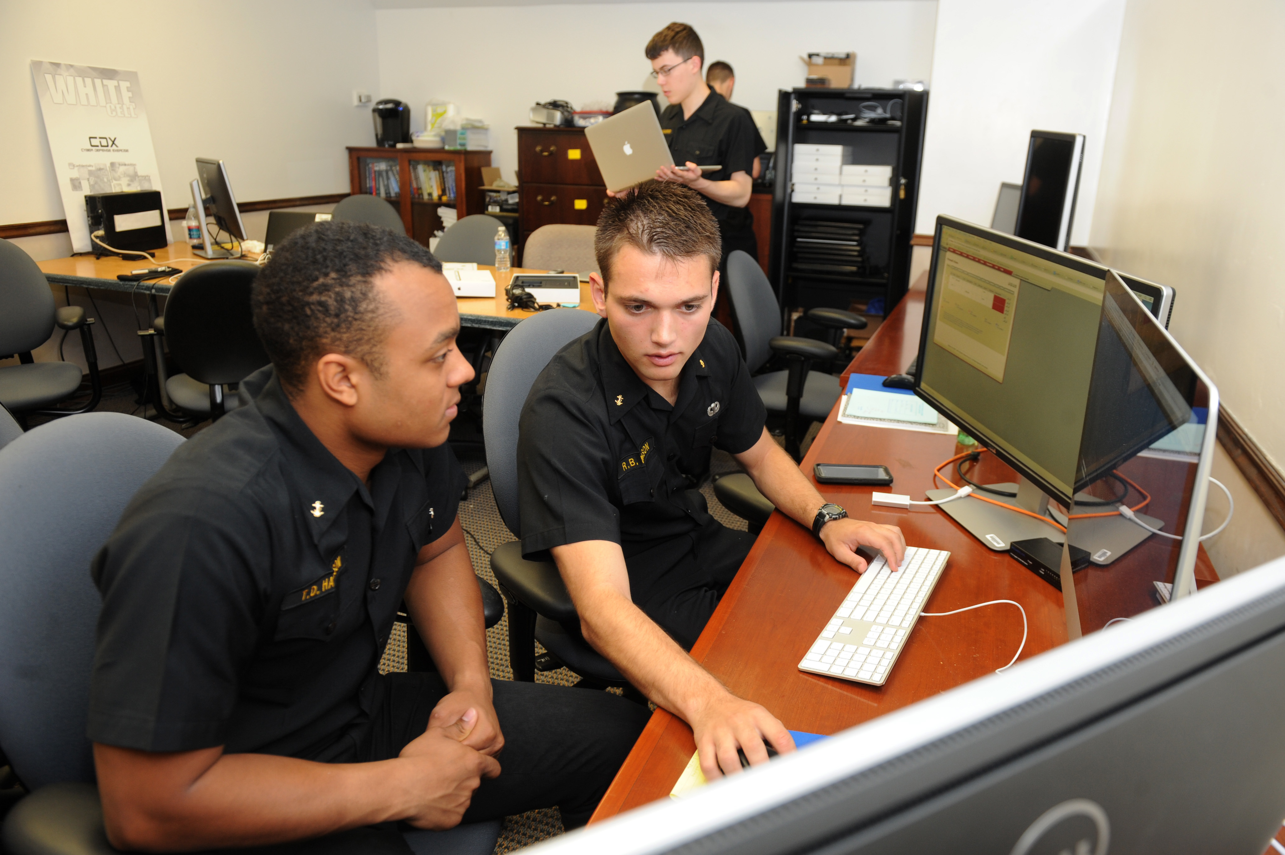 military cyber offensive defensive weapons training military times