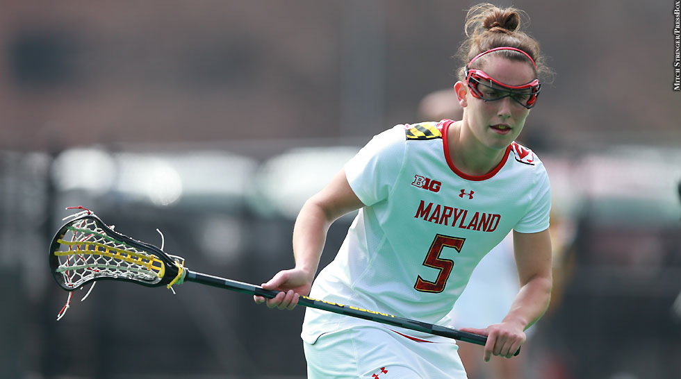 Terps Maryland Women's Lacrosse 2015: Megan Douty