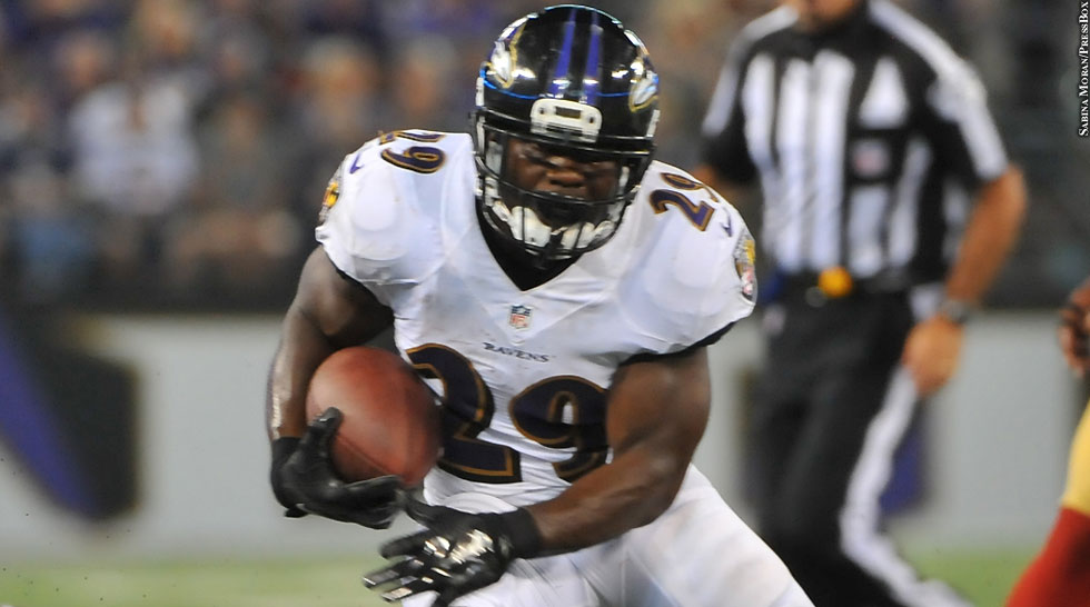 Issue 200: Ravens 2014: Justin Forsett