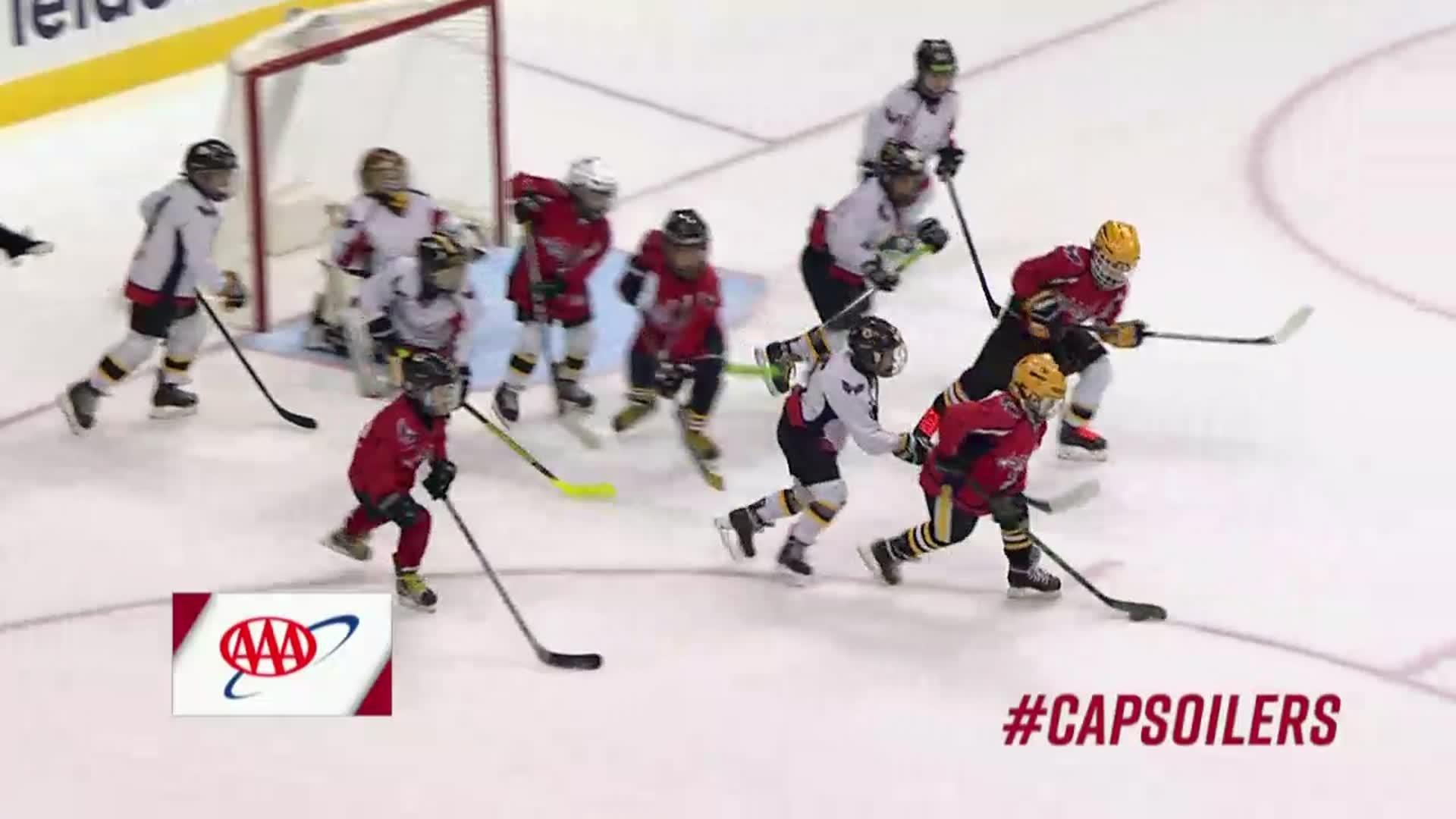 #CapsOilers Mites on Ice 11/12/17