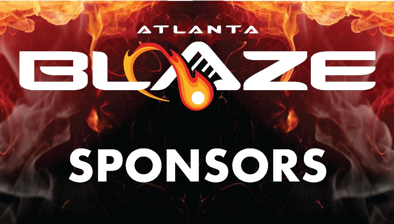 Atlanta Blaze Sponsors Page