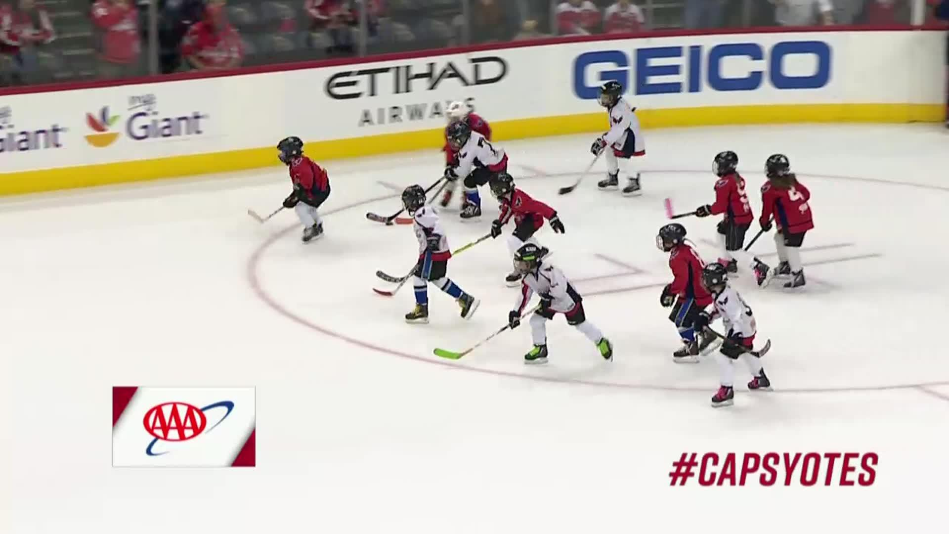 #CapsYotes Mites on Ice 11/6/17