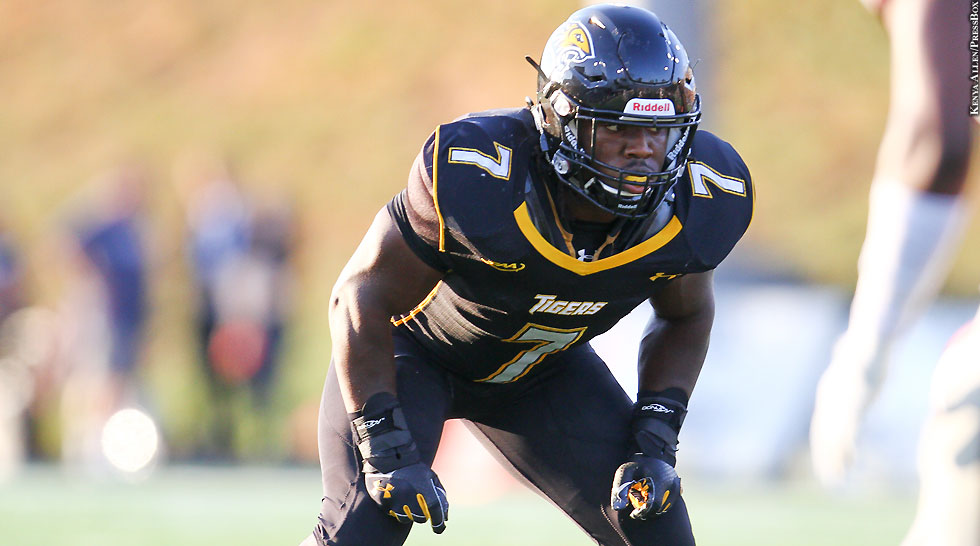 Towson Football 2014: Darius Victor (set)