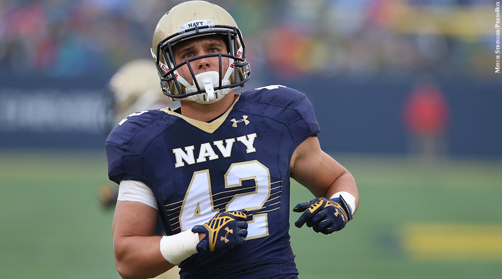 Navy Football 2014: George Jamison