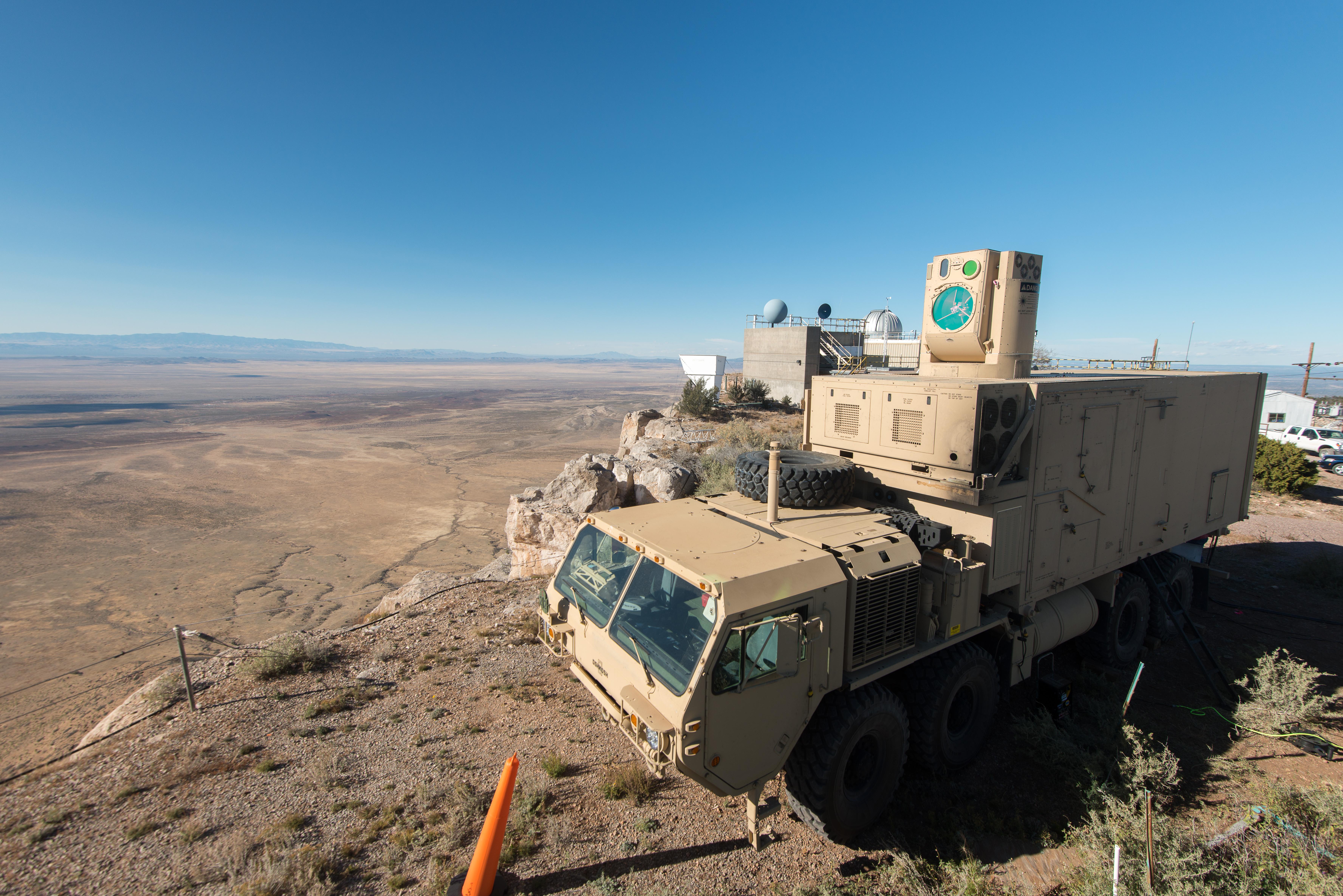 High Energy Laser Weapons Target Uavs