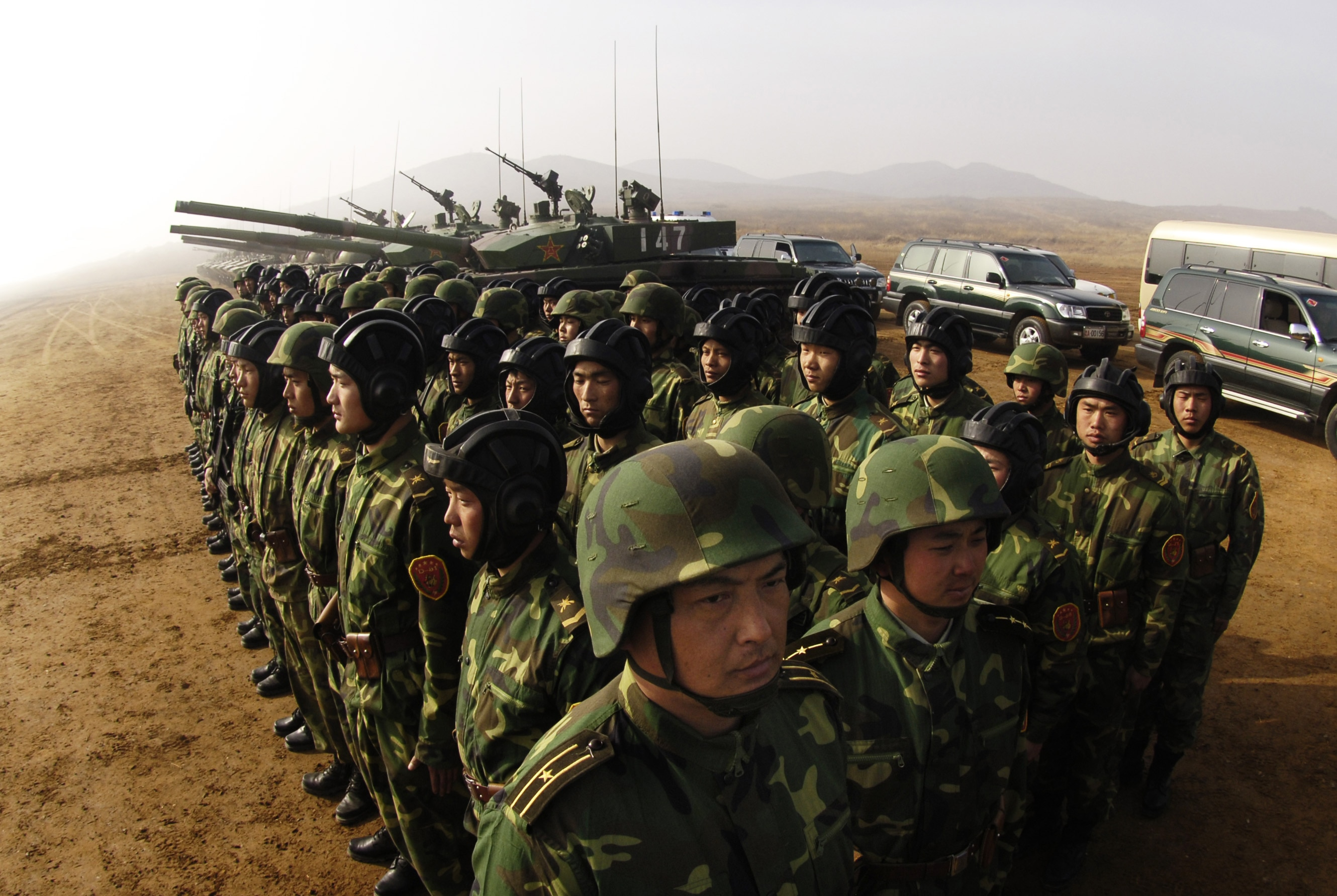 Chinese troops appear to be operating in Afghanistan, and the Pentagon is OK with it