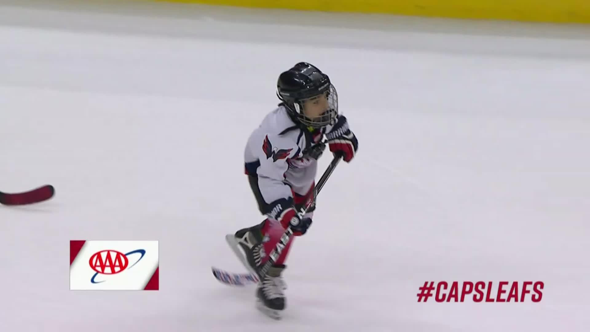 #CapsLeafs Mites on Ice 10/17/17