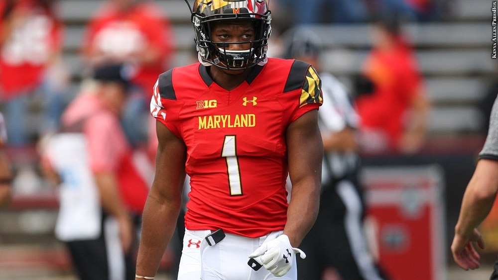 Issue 236: Maryland Terps Football 2016: D.J. Moore