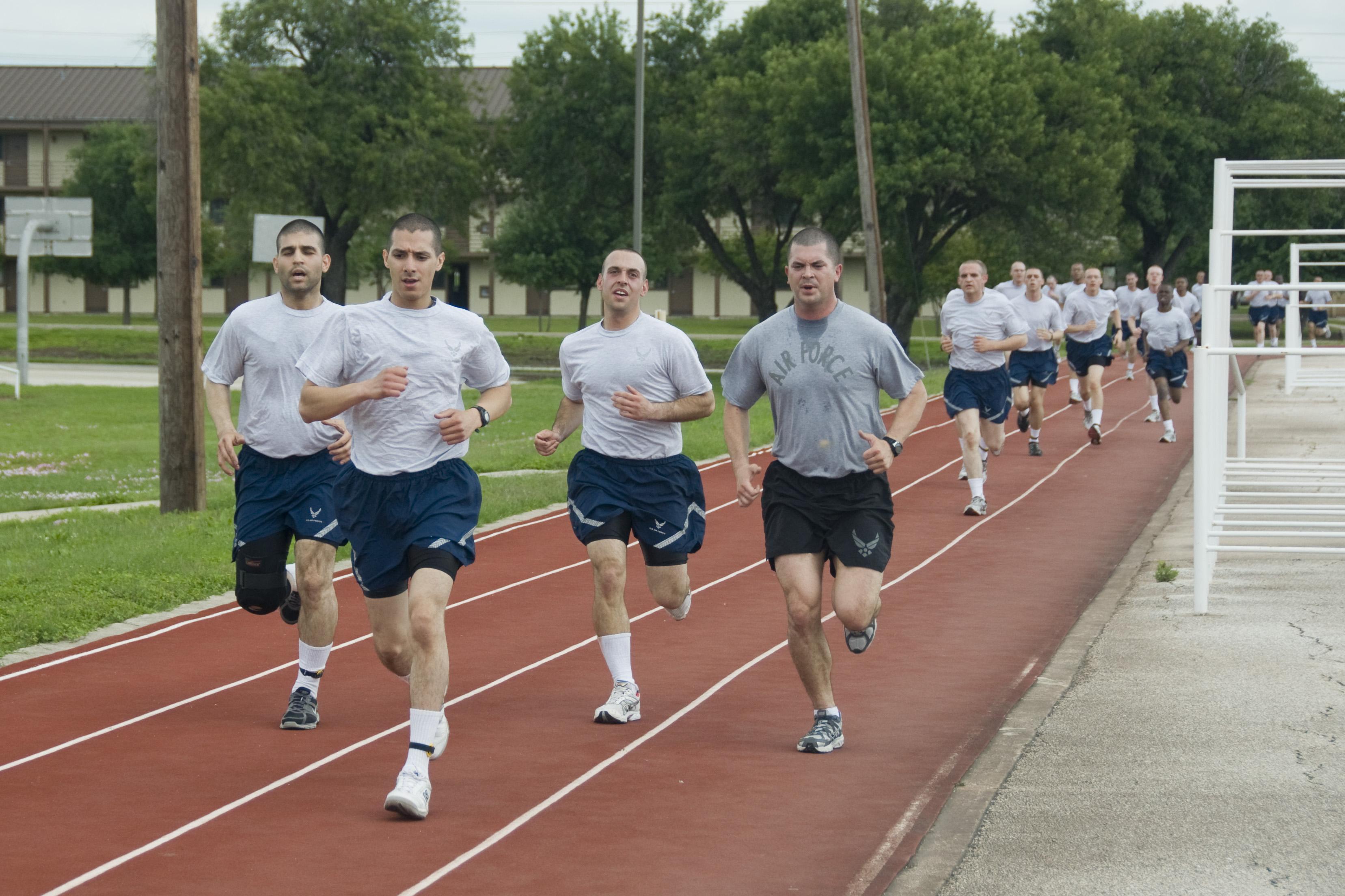 Air Force Basic Training Discipline and Punishment