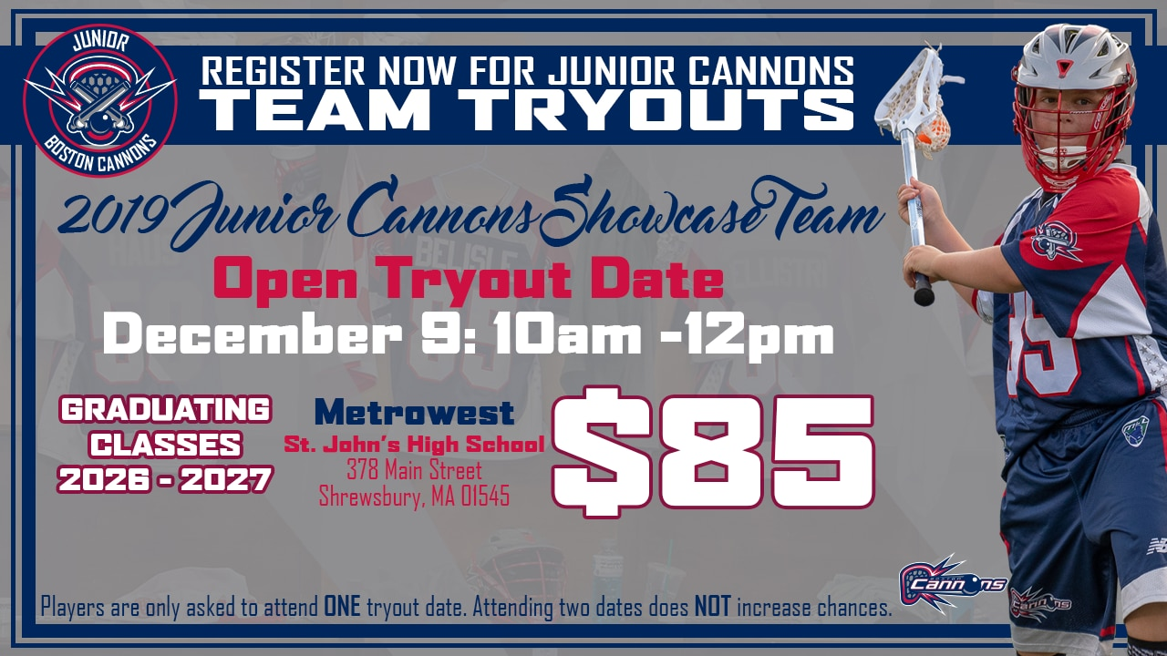 Junior Cannon Tryout #3 U11