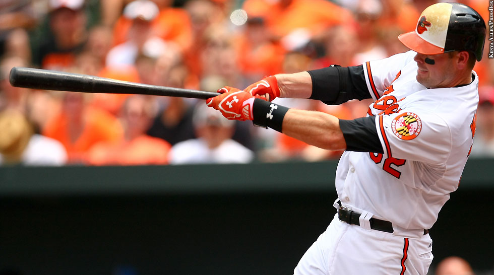Orioles 2015: Matt Wieters (swinging 2)