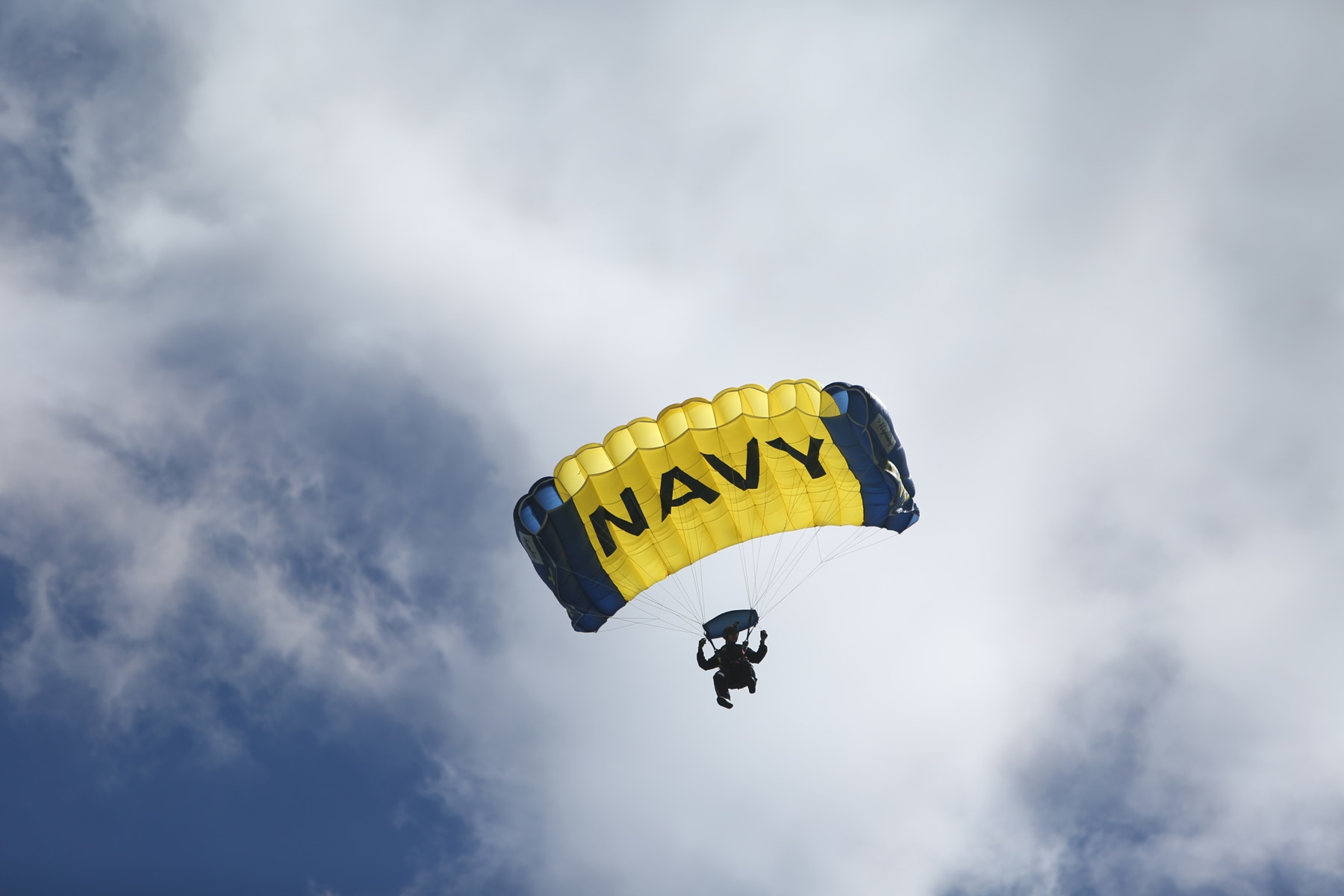 Navy Parachutist Dies in Fleet Week Crash