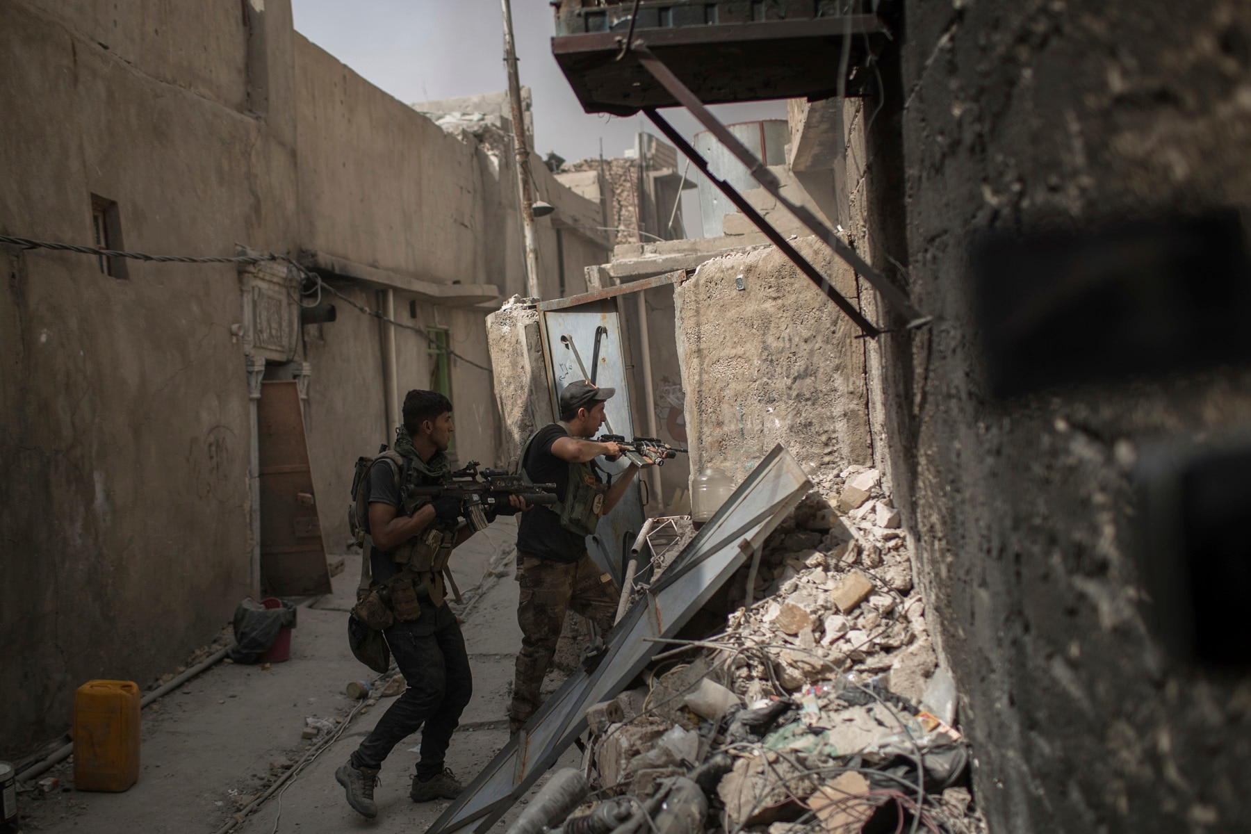 Iraqi Forces Said To Capture More Neighborhoods In Mosul's Old City
