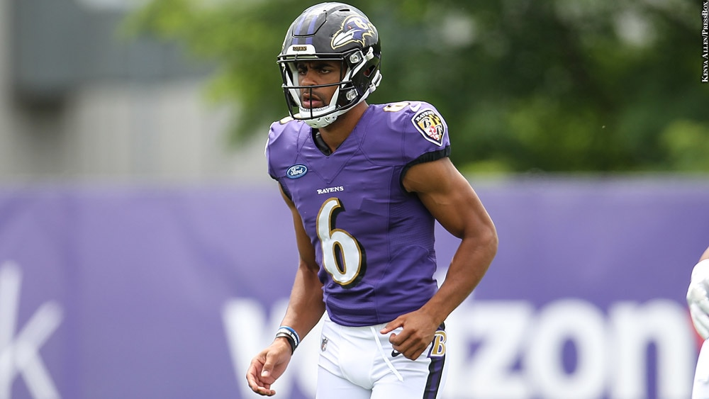 Ravens 2018: Kaare Vedvik (training camp July 22)