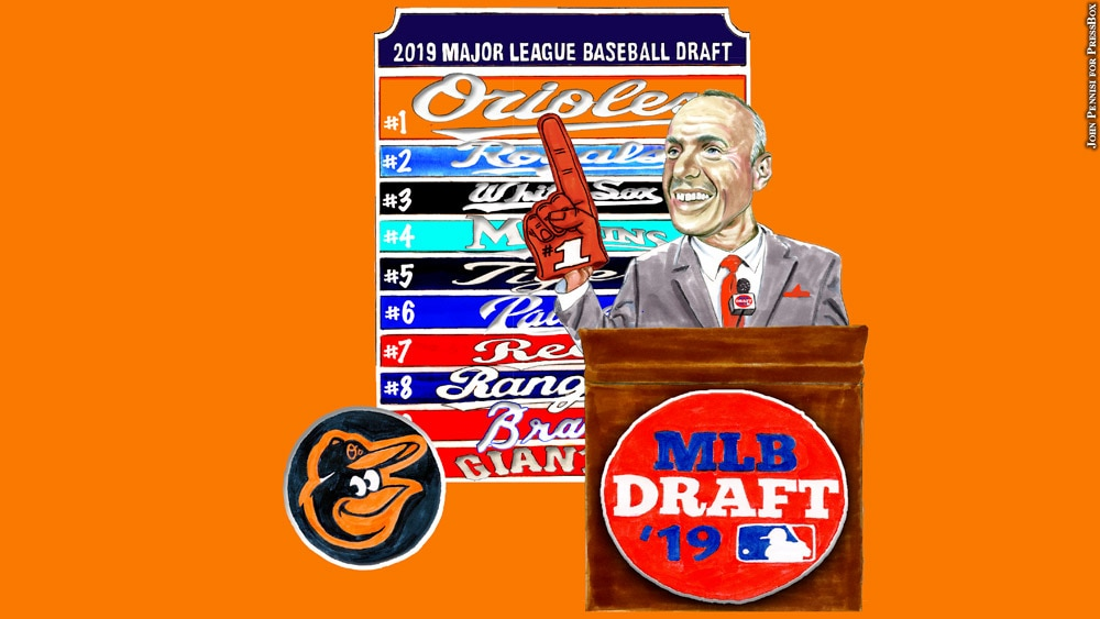 Issue 254: Orioles Draft (illustration)