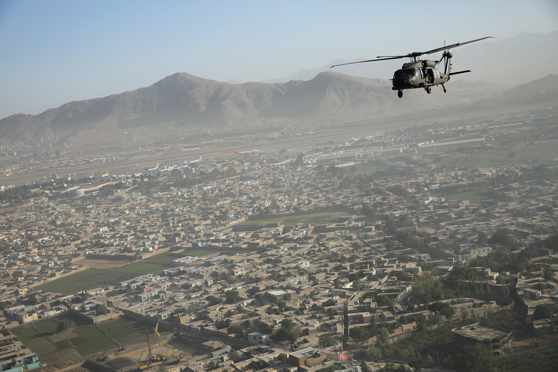 Afghanistan helo