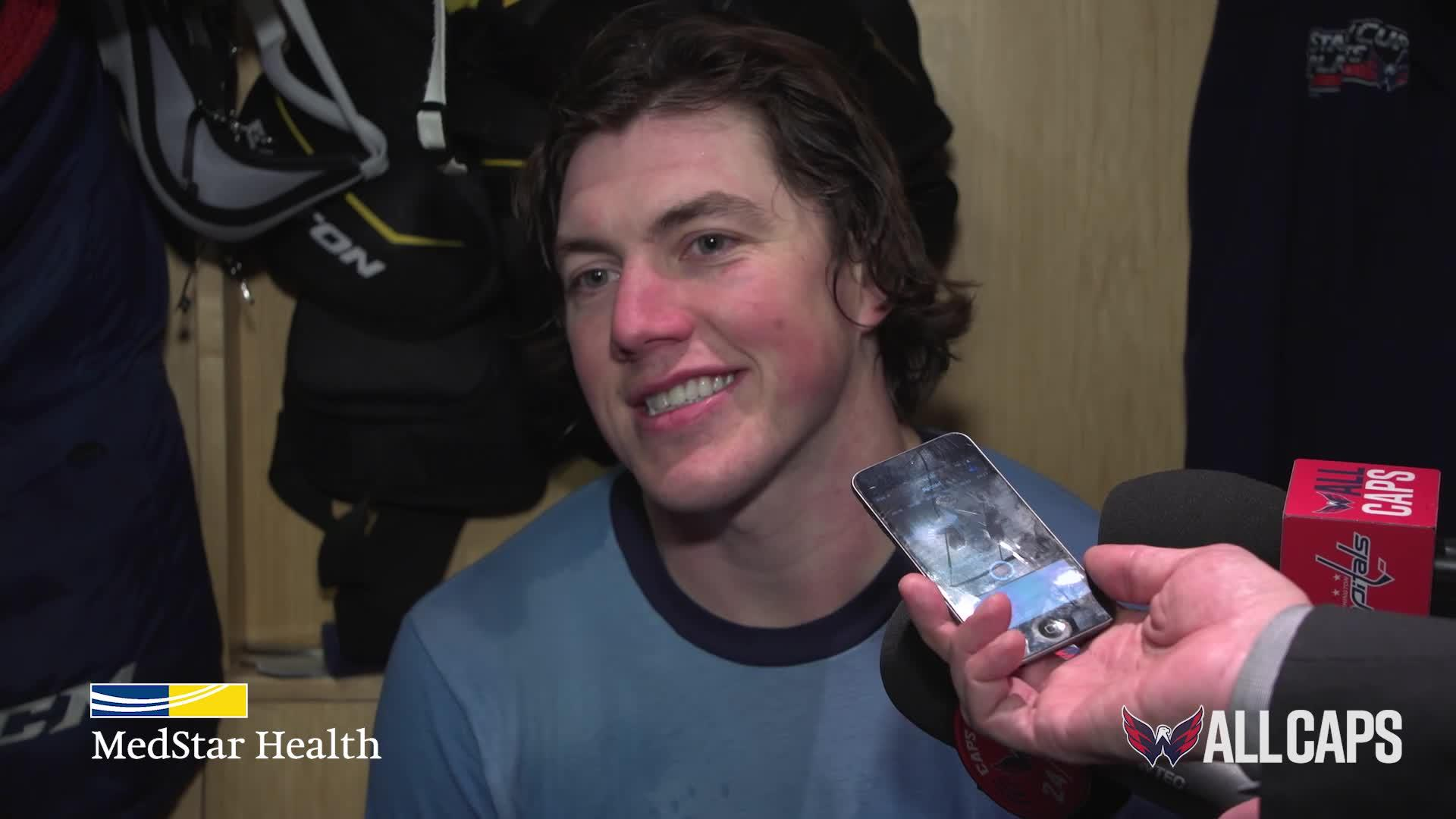 TJ Oshie | January 1