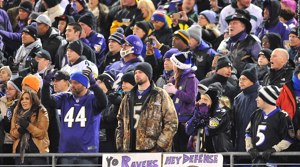 Ravens 2013: Ravens Fans