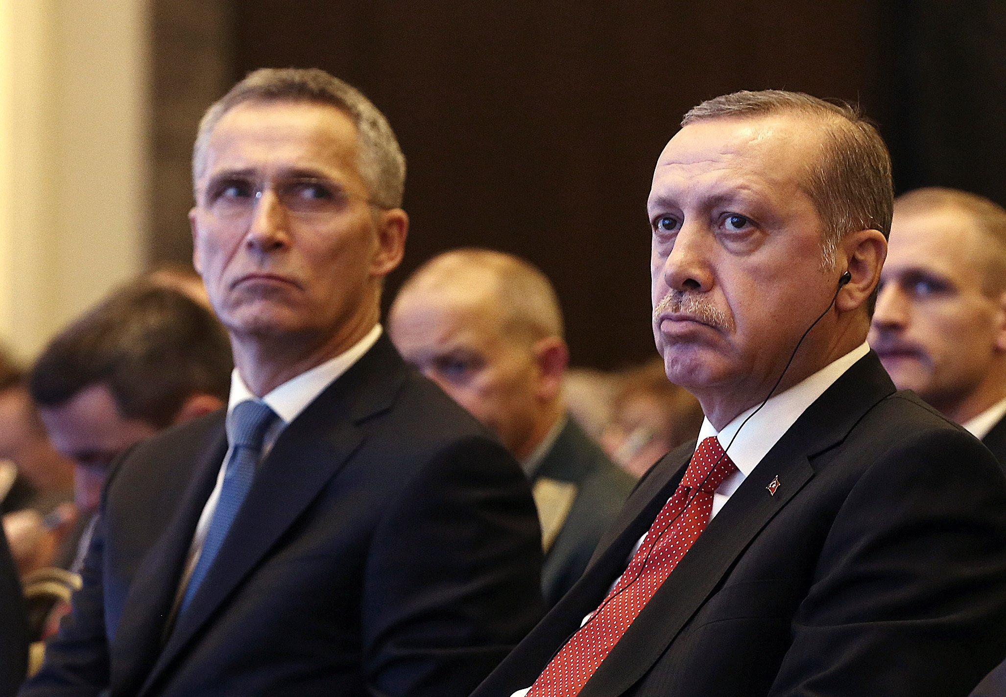 Erdogan, Stoltenberg
