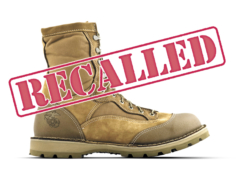 Marine Corps recalls new boots from war zone