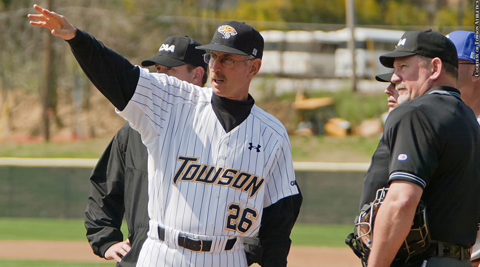 Towson Baseball 2014: Coach Mike Gottlieb