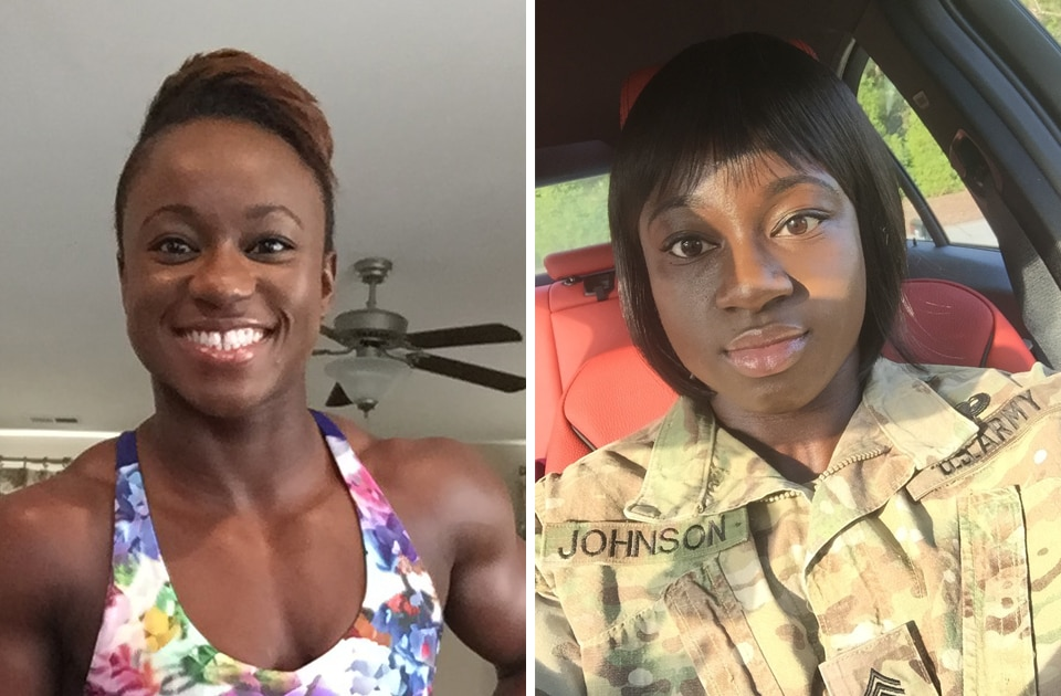 Army Staff Sgt. Chareece Johnson