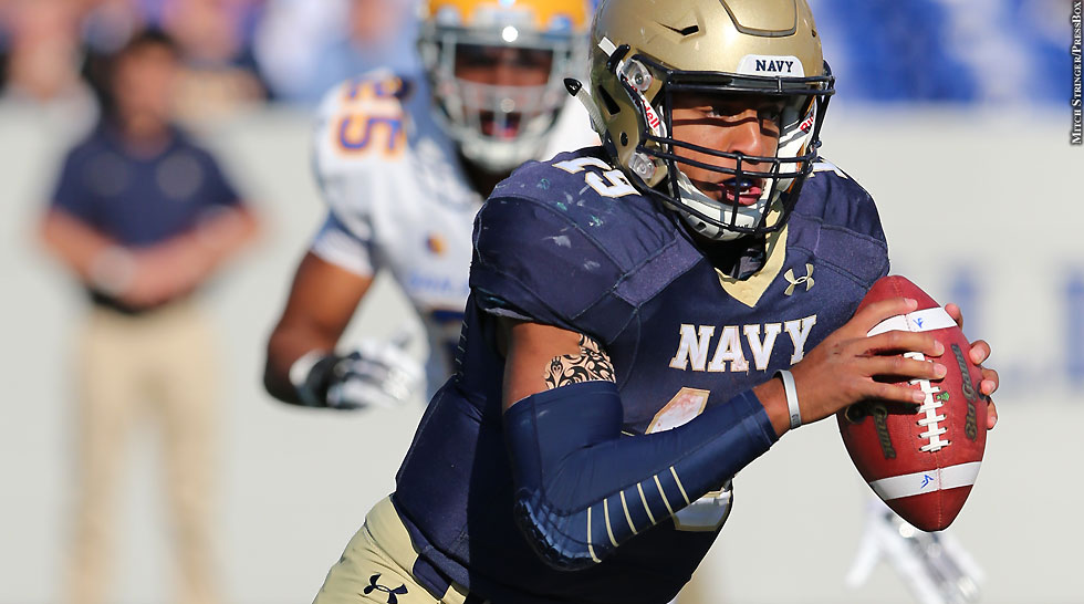 Navy Football 2014: Keenan Reynolds (Oct. 25 vs. San Jose State)
