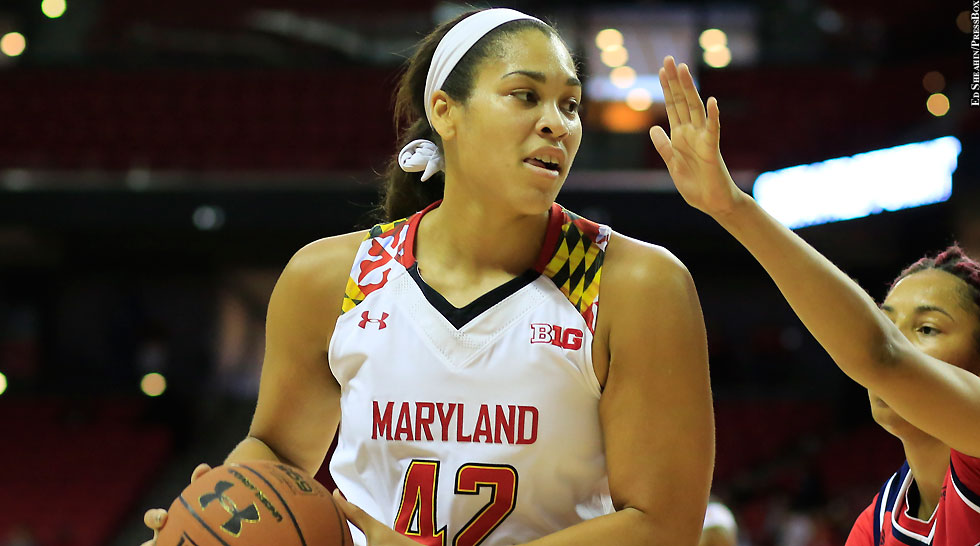 Maryland Terps Women's Basketball 2015-16: Brionna Jones