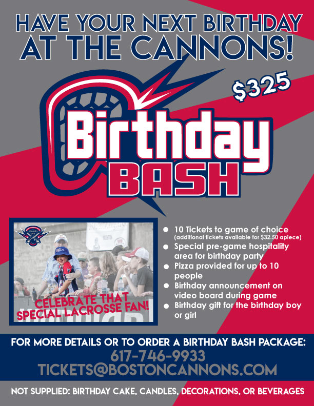 Birthday Bash Package
