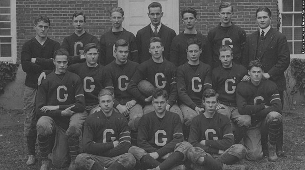 Issue 214: Gilman vs. McDonogh: 1914 Gilman Football Team