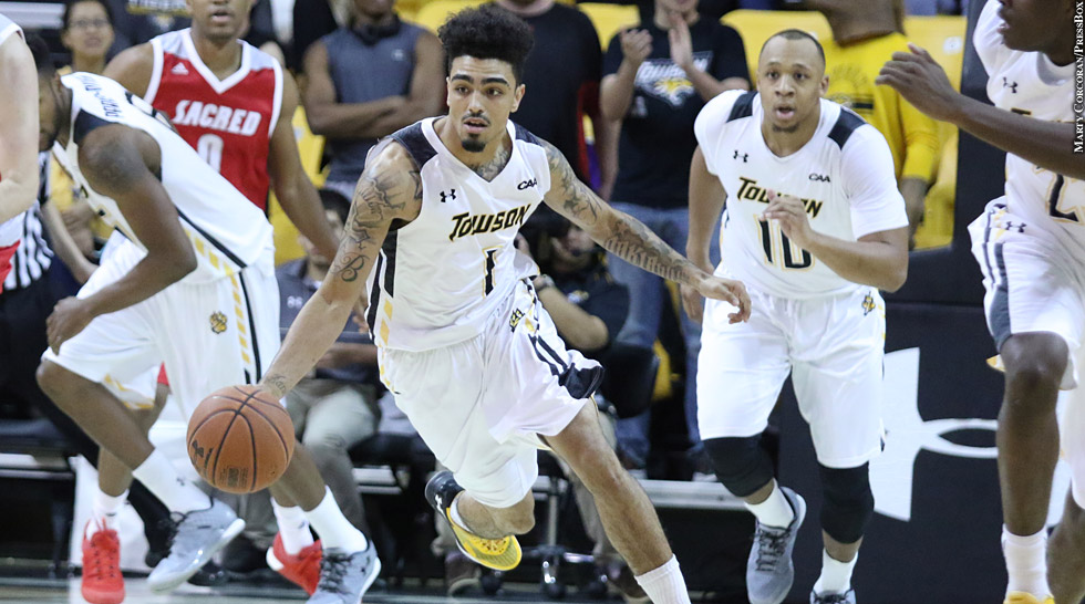 Issue 217: Towson Basketball 2015-16: Byron Hawkins