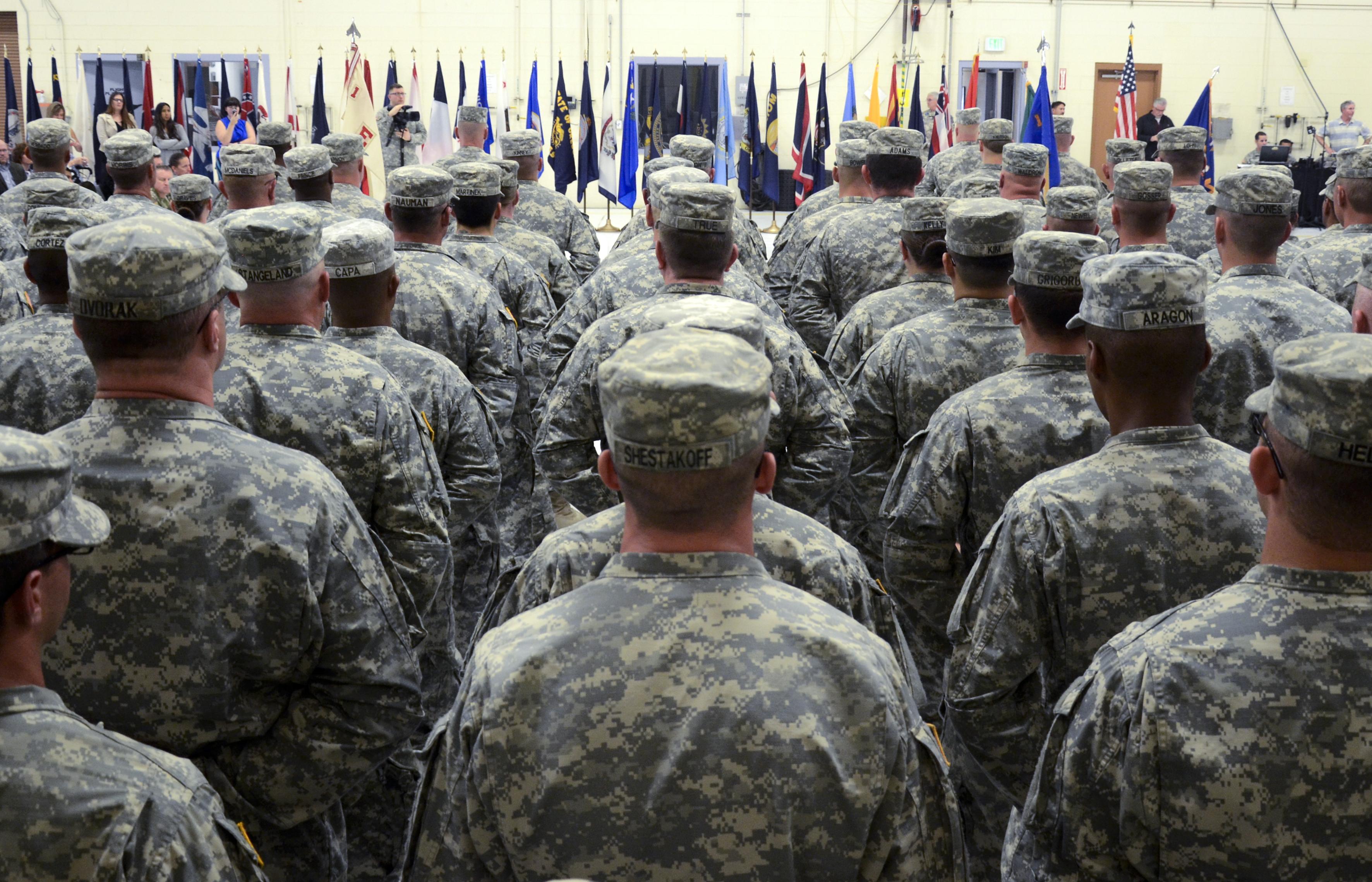 1-168th Aviation Regiment deployment ceremony