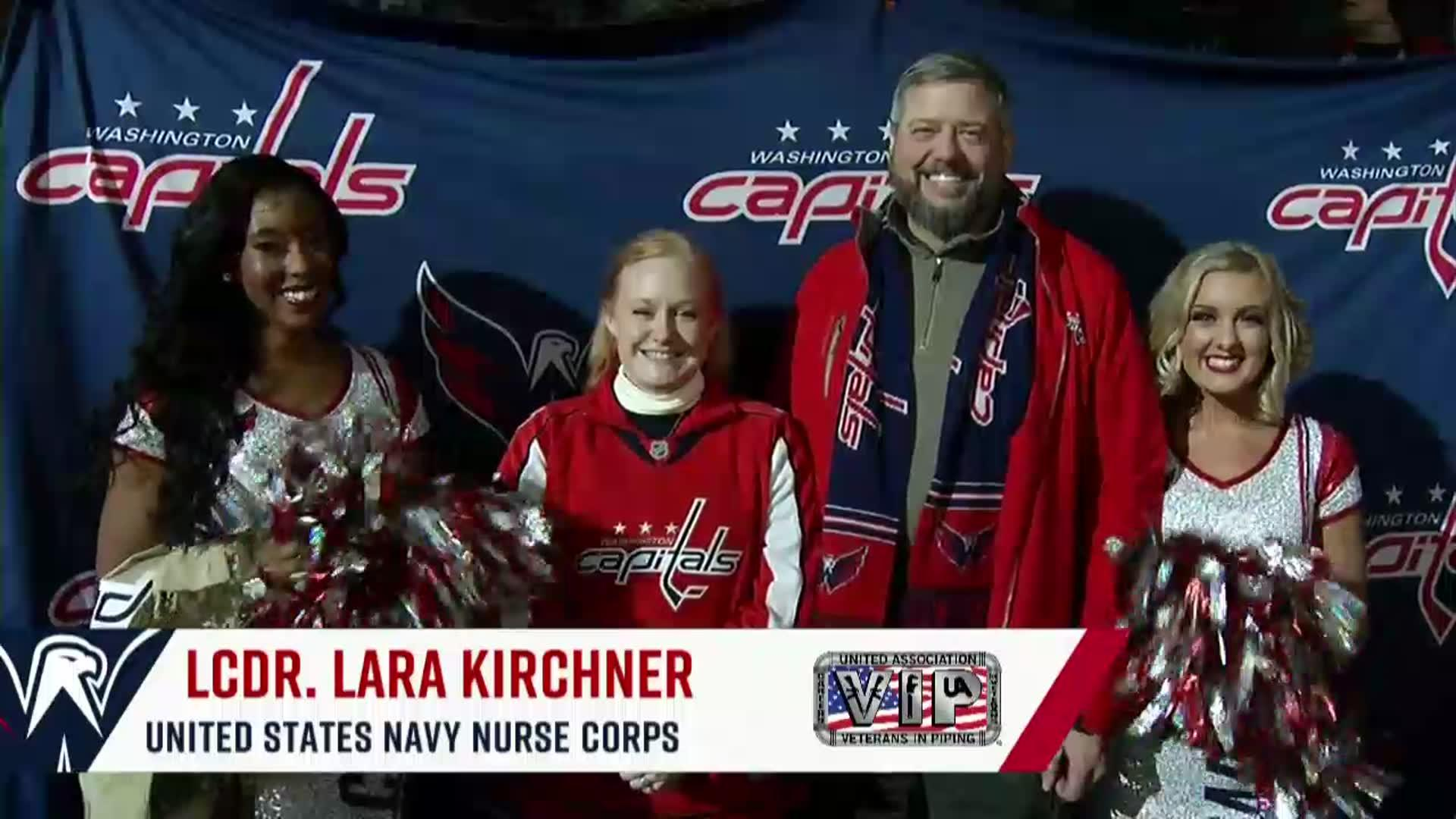 #CapsDevils Salute to the Troops 12/30/17