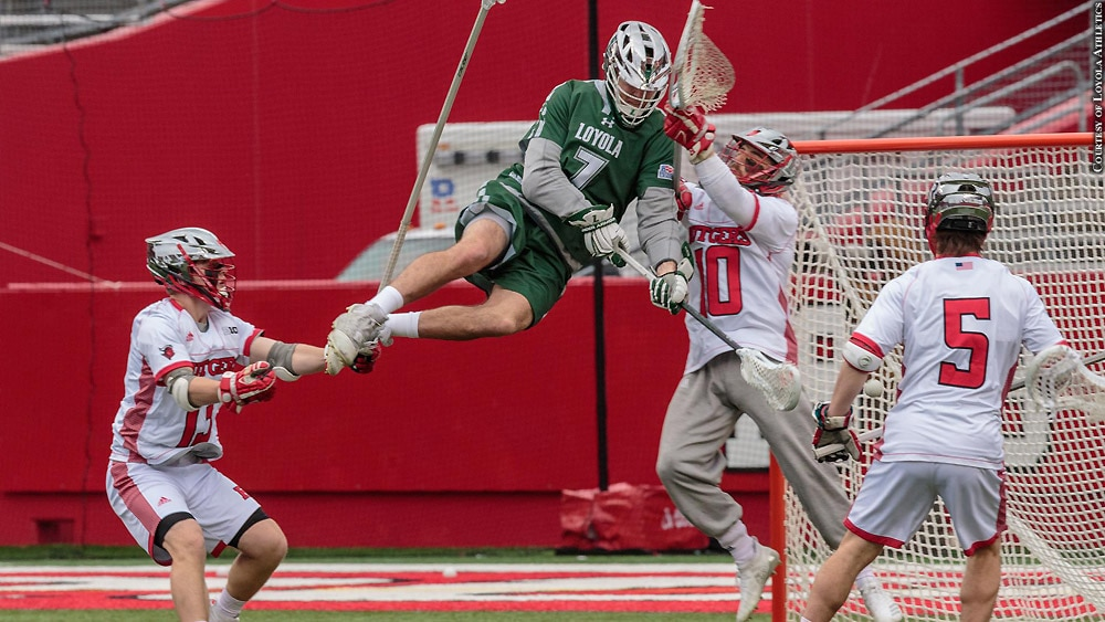 Issue 255: Loyola Lacrosse 2019: Pat Spencer