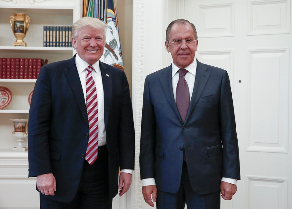 Trump, Lavrov, White House meeting