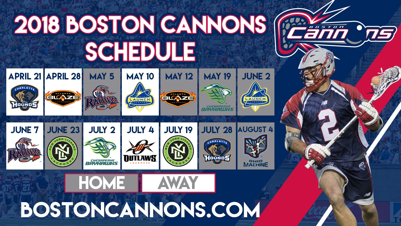 boston cannons event hub boston cannons