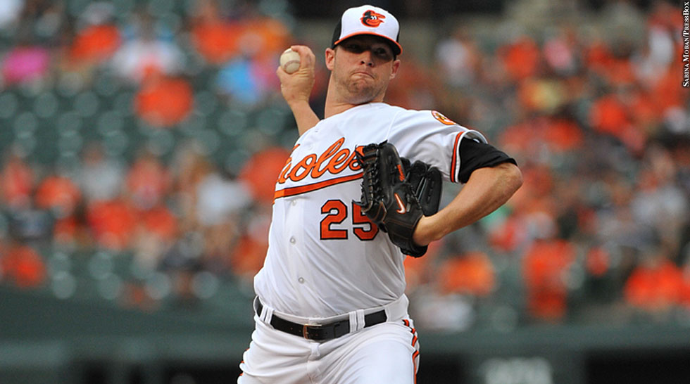 Orioles 2014: Bud Norris (pitching)