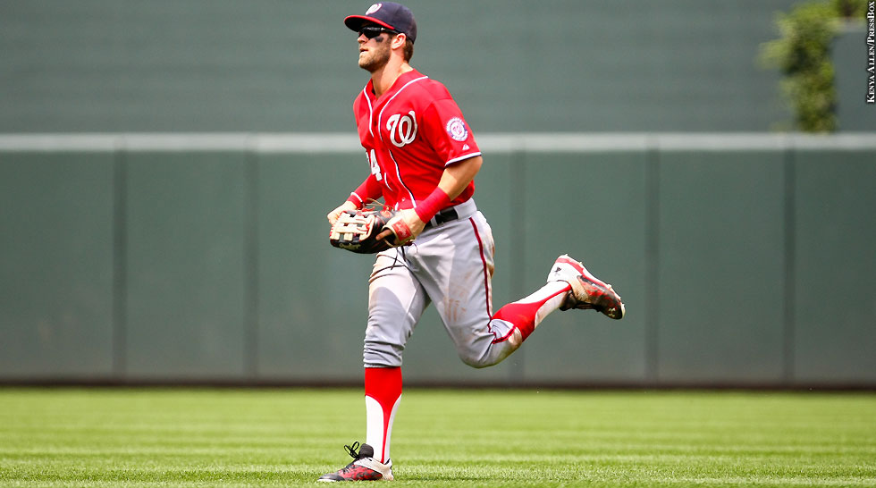 Nationals' Outfield Begins To Take Shape | PressBox D.C. Bryce Harper Outfield