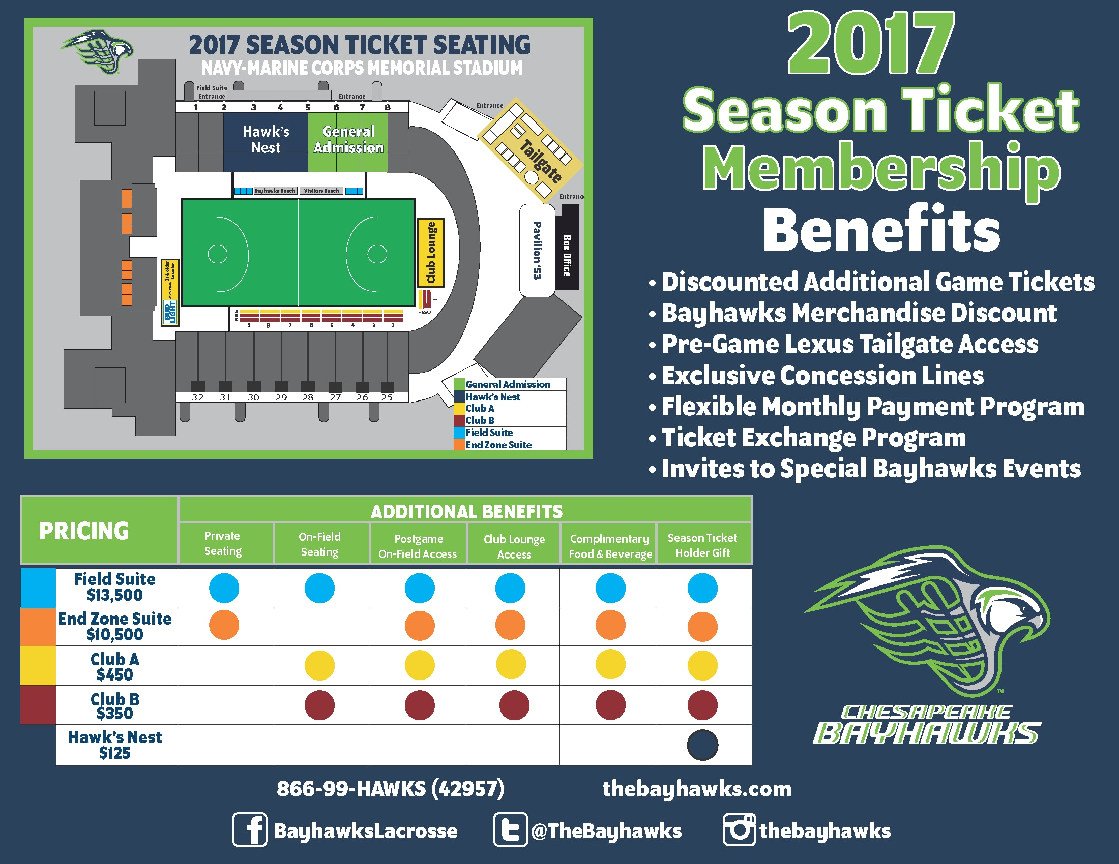 Season Tickets Benefits Guide