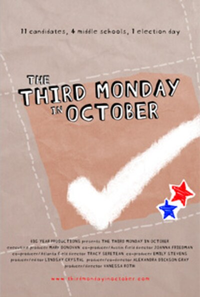 Third Monday in October