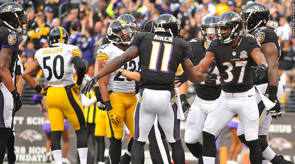 Ravens 2015: Ravens vs. Steelers (Week 16 vs. Steelers)