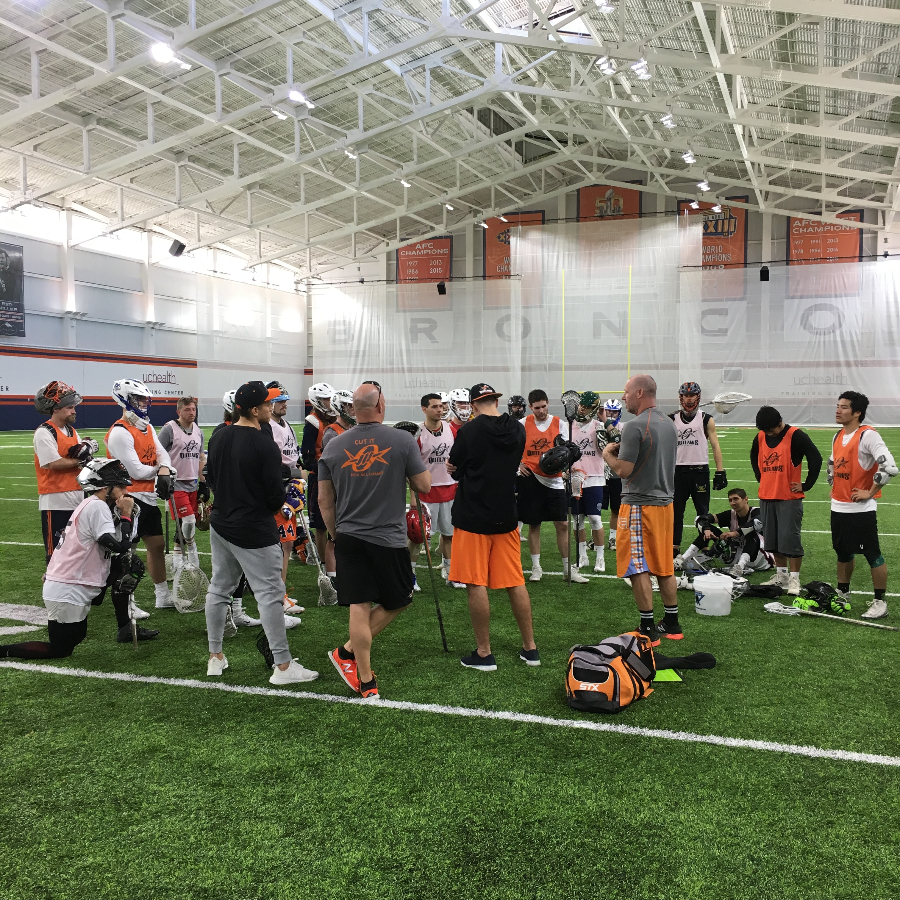 DENVER OUTLAWS SIGN EIGHT PLAYERS FROM OPEN TRYOUTS