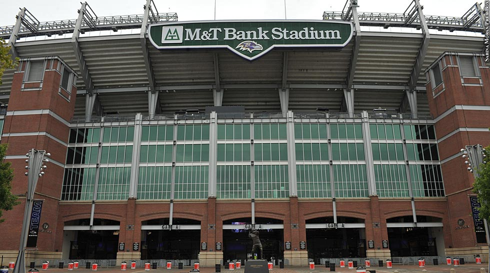 Ravens 2013: M&T Bank Stadium