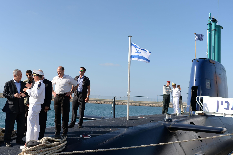 Dolphin Sub Israel Navy
