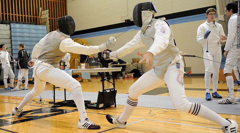 Issue 206: Johns Hopkins Fencing 2014: Glenn Balbus