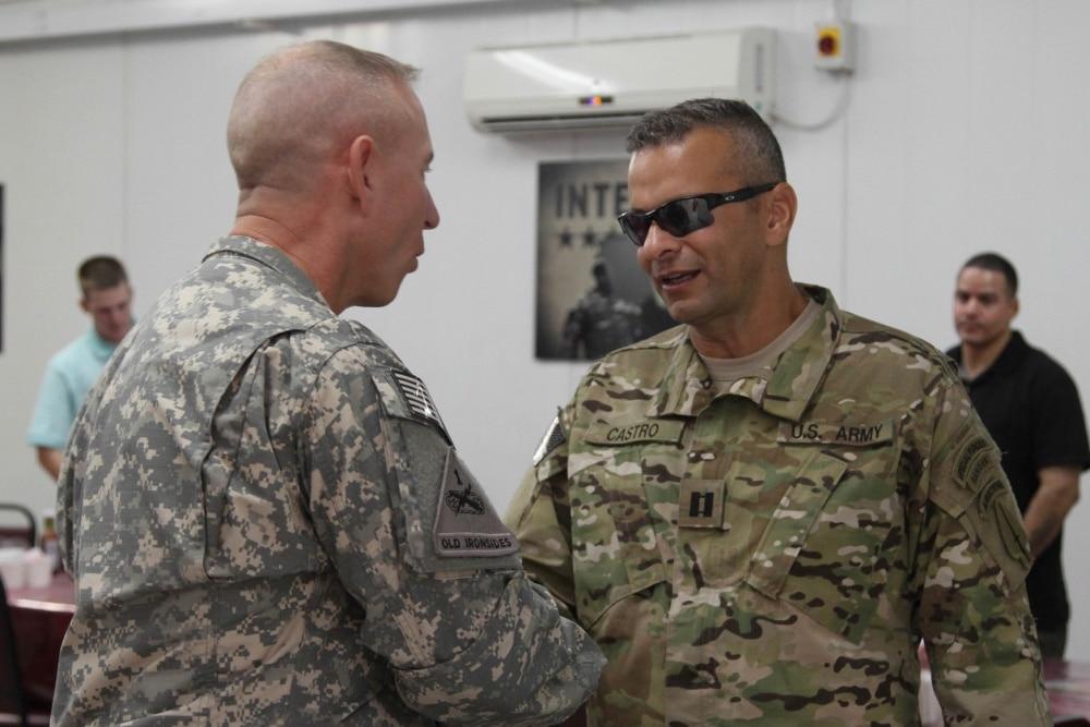 Army Major Ivan Castro