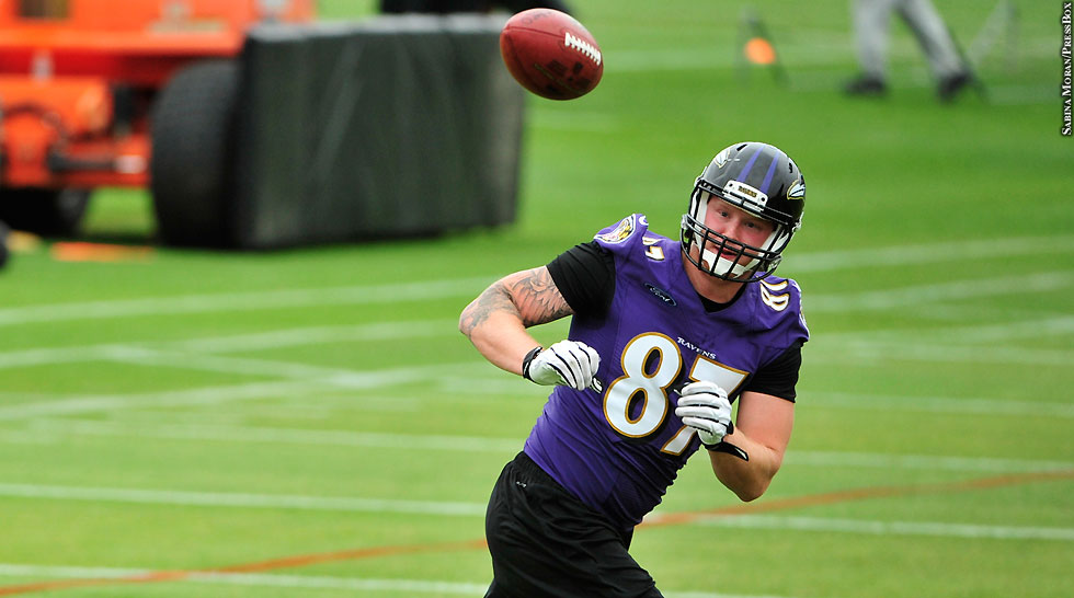 Ravens 2015: Maxx Williams (OTAs)