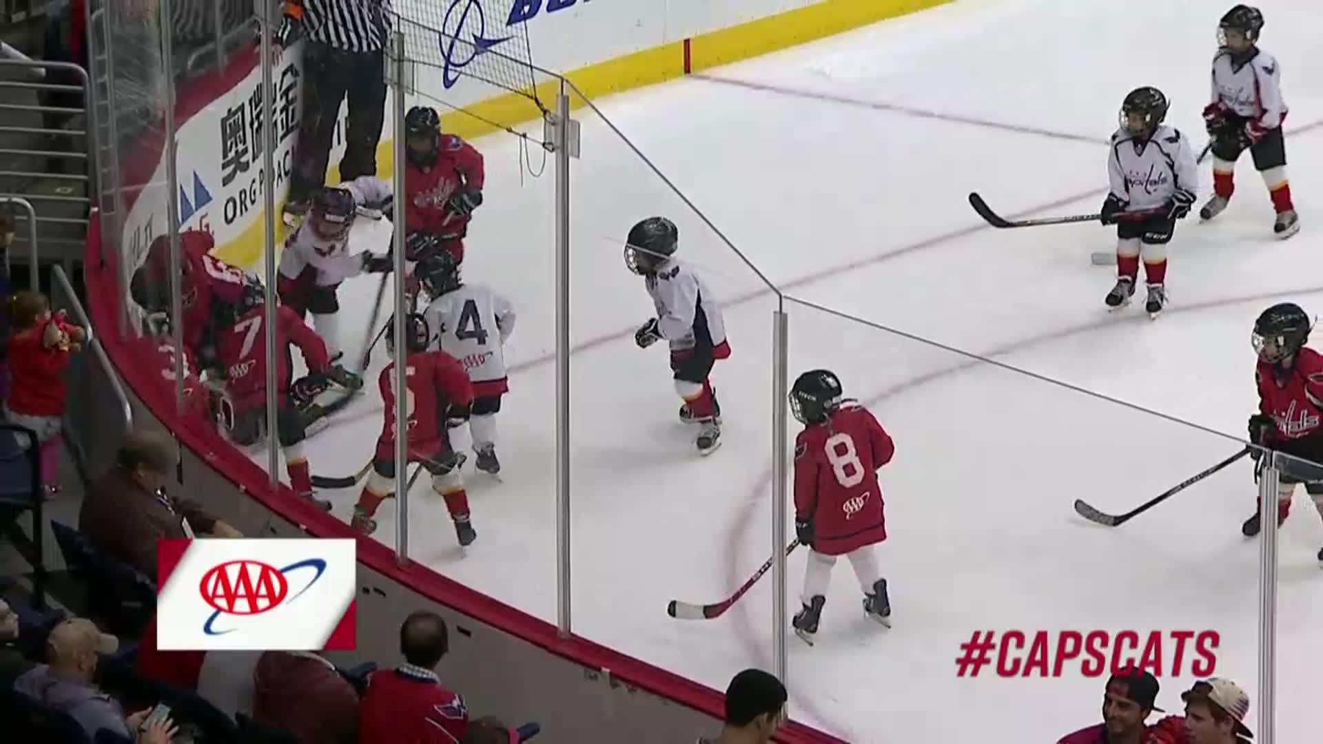 #CapsCats 1st Mites on Ice 10/21/17