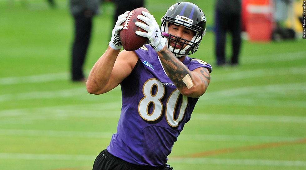 Ravens 2015: Crockett Gillmore (OTAs)