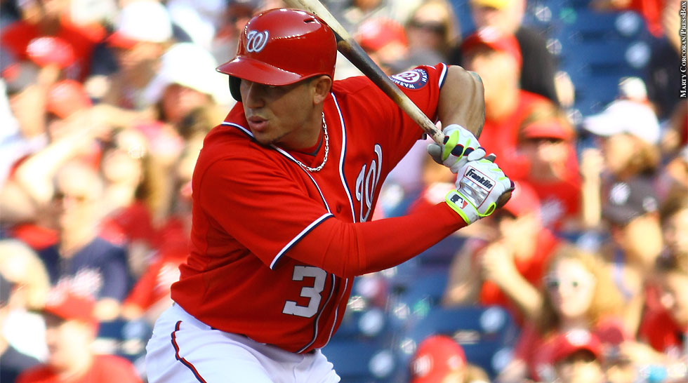Nationals 2014: Asdrubal Cabrera (at bat)
